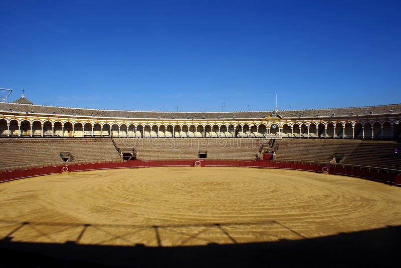 Bull ring, Seville royalty free stock photos
