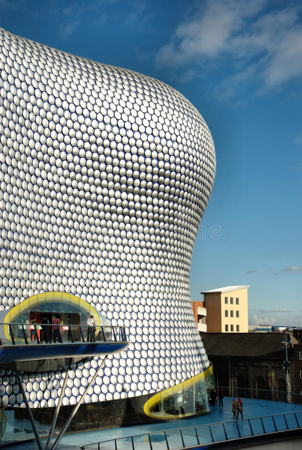 Bull Ring Shopping Center in Birmingham, UK. stock photos