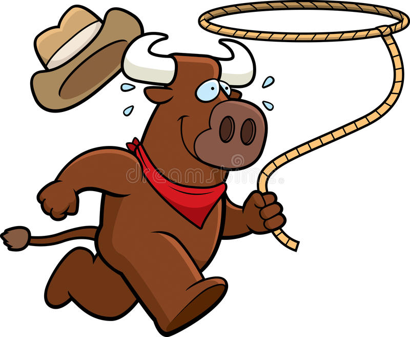 Bull-Rodeo stock abbildung