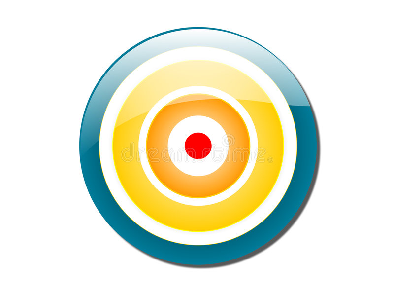 Download Bull's Eye Colored Stock Photos - Image: 1704573