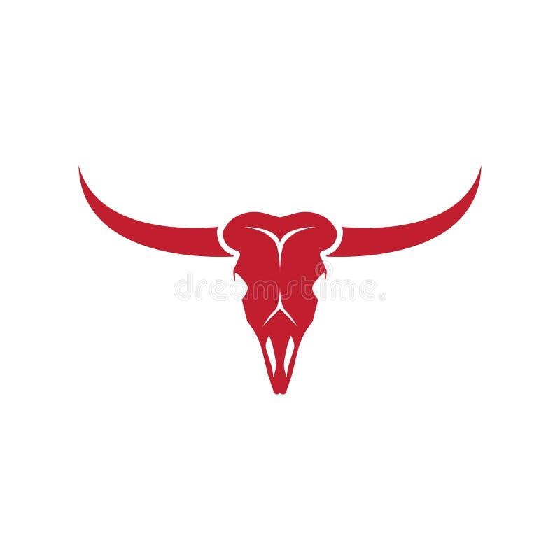 Free Bull Skull Vector Icon Illustration Stock Photo - 159889820