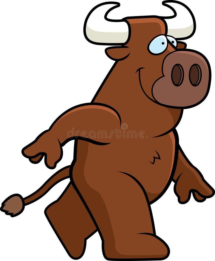 Bull Walking Stock Images