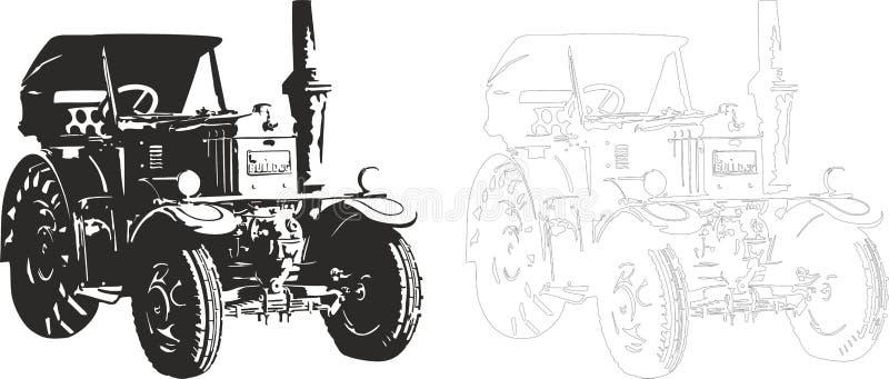Bulldock vektor illustrationer