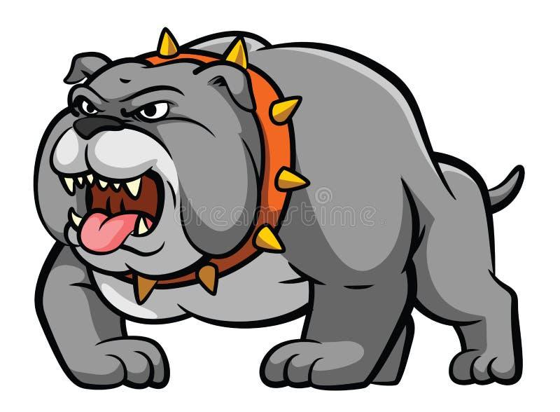 bulldog ilustración del vector