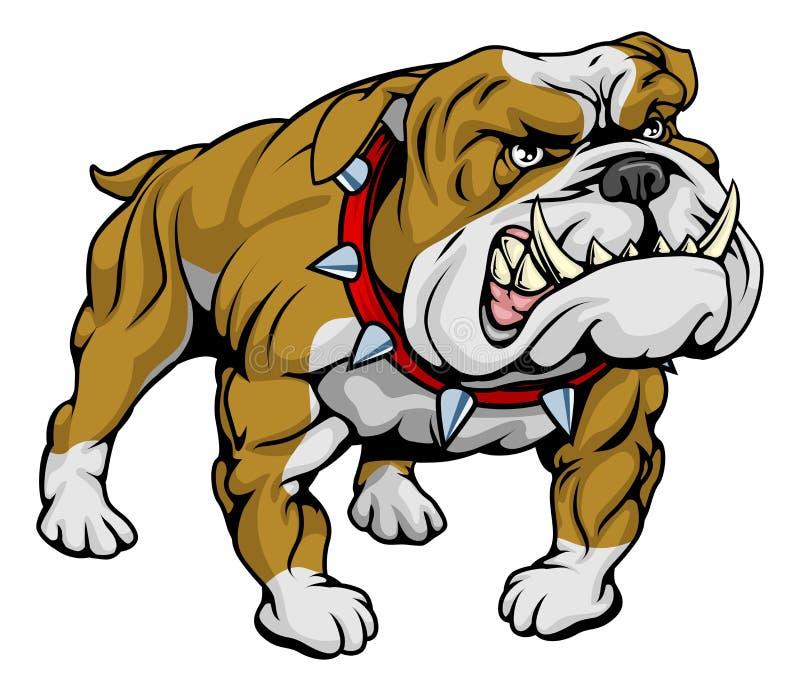 Download Bulldog Clipart Illustration Stock Vector - Illustration: 21017874
