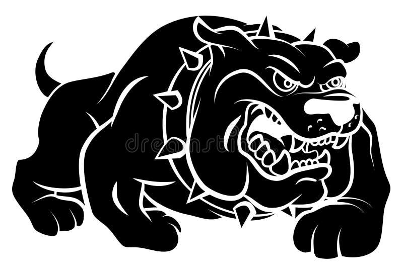 Bulldog. Eps 10 illustration Design stock illustration
