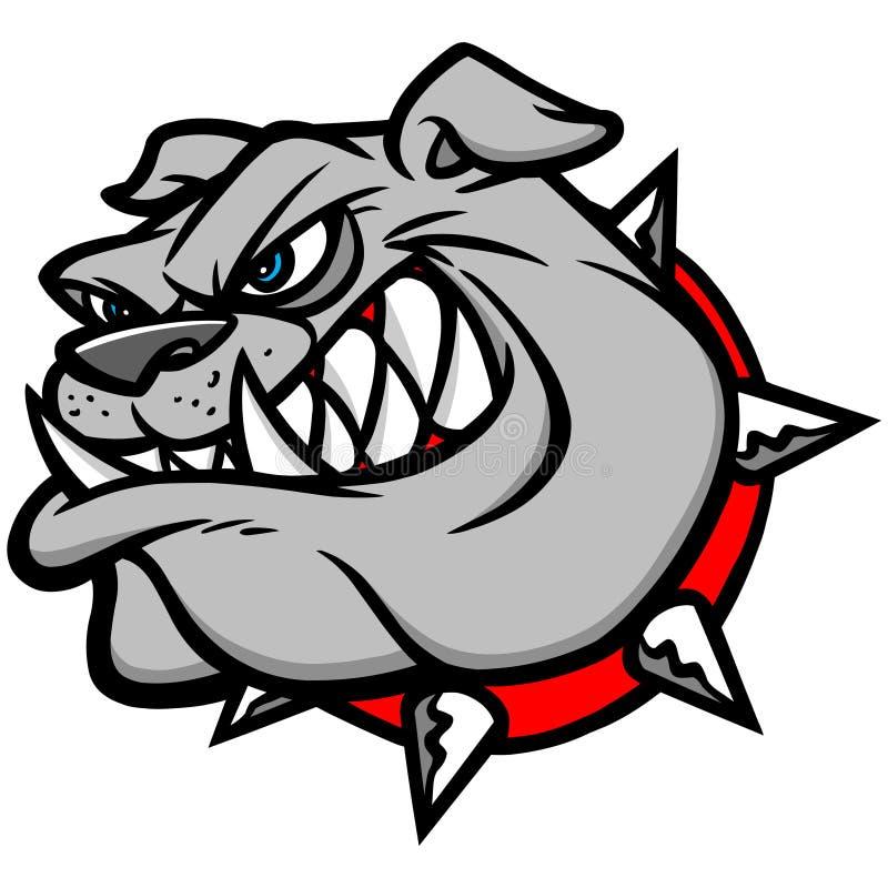 Bulldog Extreme. Cartoon illustration of a Bulldog royalty free illustration