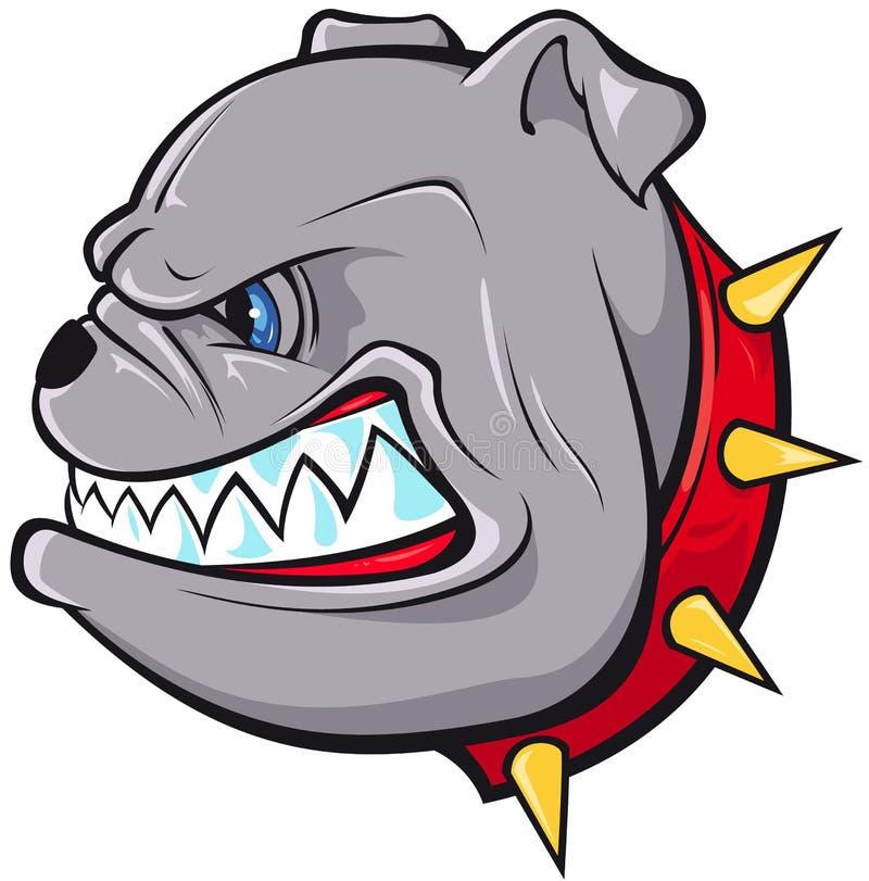 Free Bulldog Head Royalty Free Stock Image - 18137056