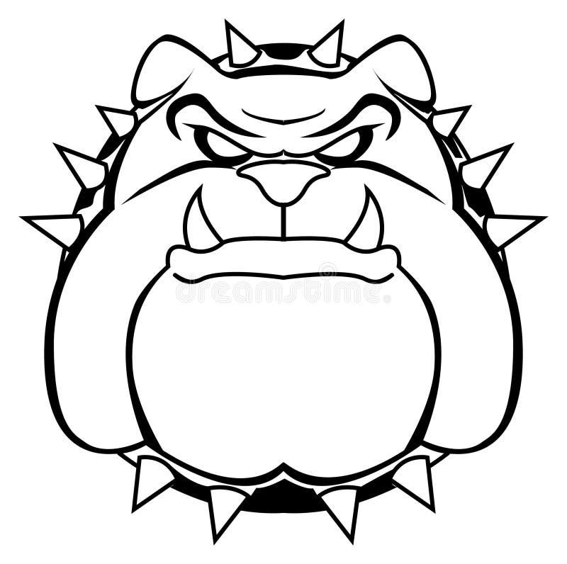 Download Bulldog stock vector. Illustration of english, head, mammal - 34050962