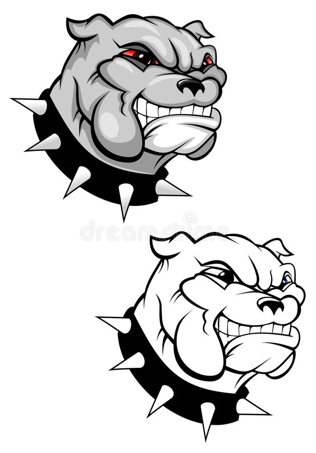 Download Bulldog mascot stock vector. Image of mascot, canine - 13244908