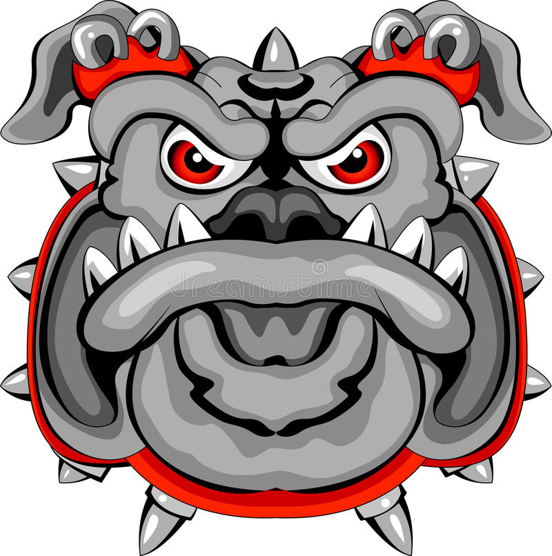 Download Bulldog Mascot Head Stock Photo - Image: 27048760