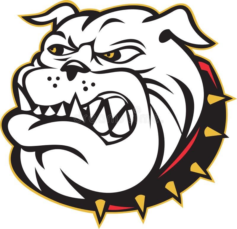 Download Bulldog Mongrel Dog Head Angry Stock Illustration - Illustration: 21665177