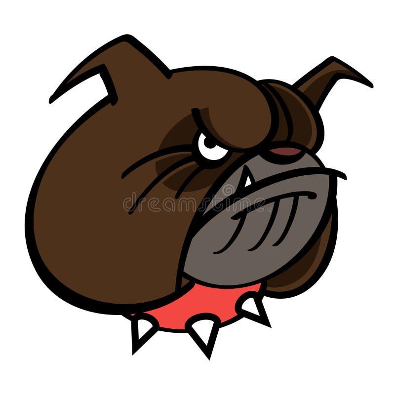 Bulldogg royaltyfri illustrationer