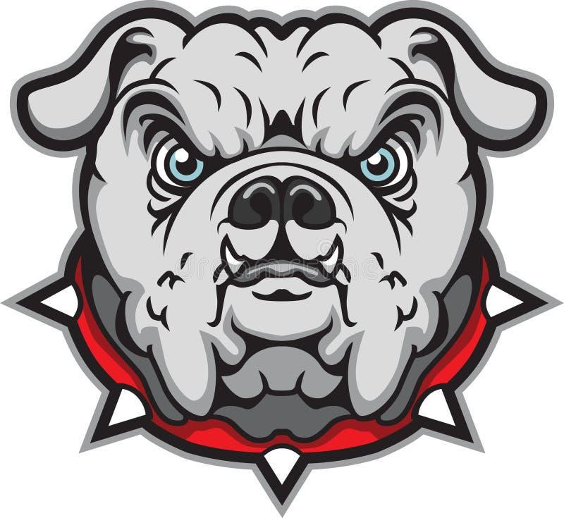 Bulldogge stock abbildung