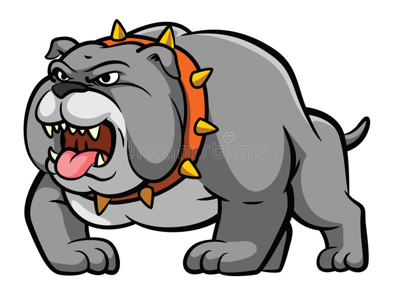 bulldogge vektor abbildung