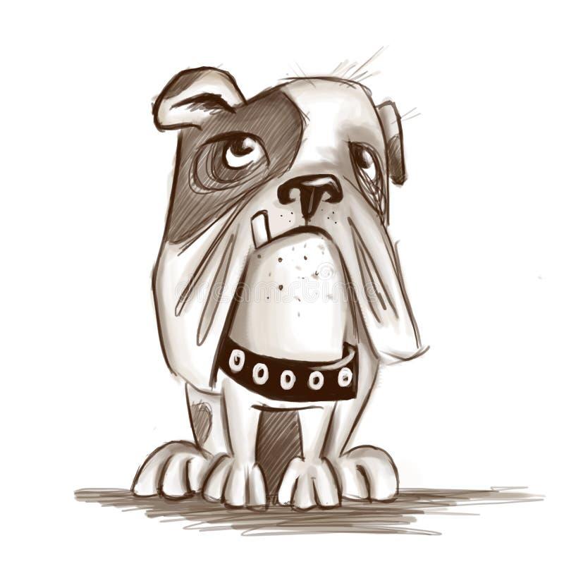 Bulldoggie illustration libre de droits