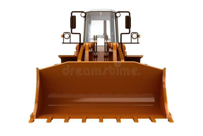 Download Bulldozer stock image. Image of machine, mover, motor - 14085415