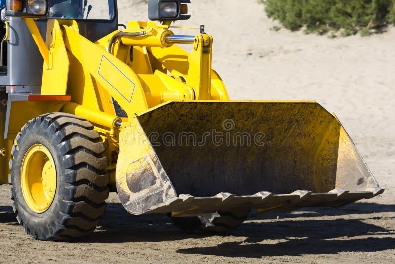Bulldozer 2 stock afbeeldingen