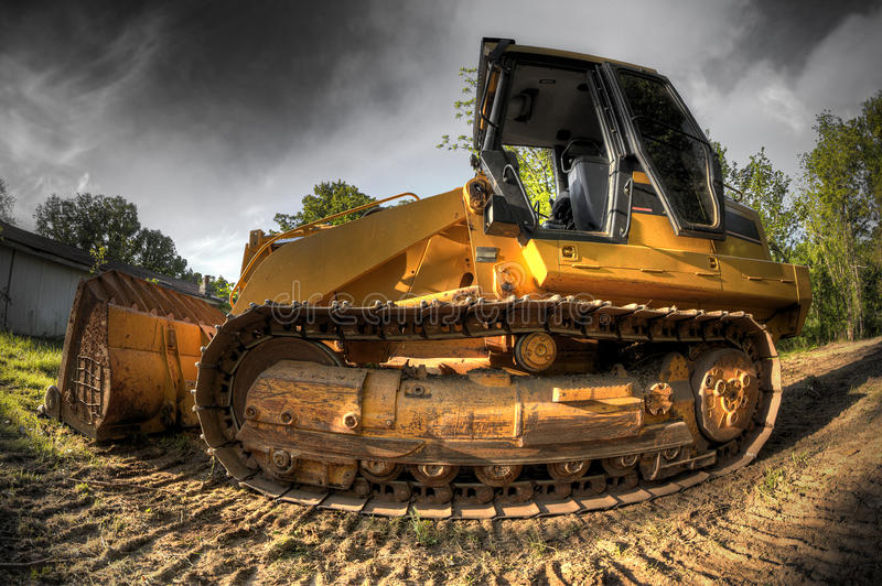 Download Bulldozer stock photo. Image of mover, photography, trees - 24511214