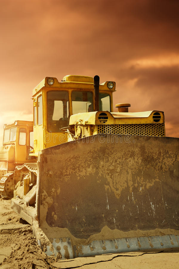 Download Bulldozer stock photo. Image of earthmover, bulldozer - 25463174