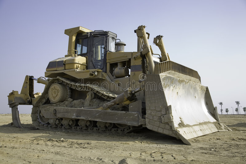 Bulldozer 3 royalty free stock photography