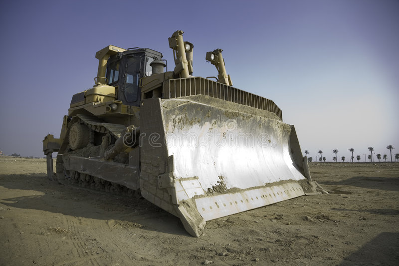 Download Bulldozer 4 stock photo. Image of view, engineering, vehicle - 2493704
