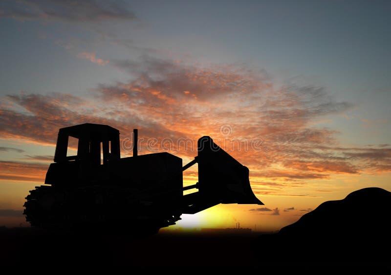 Bulldozer royalty-vrije stock fotografie