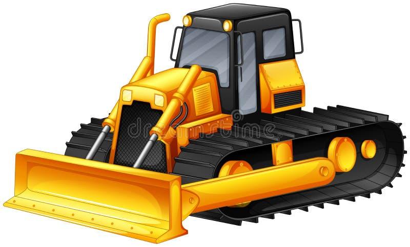 bulldozer stock illustrationer