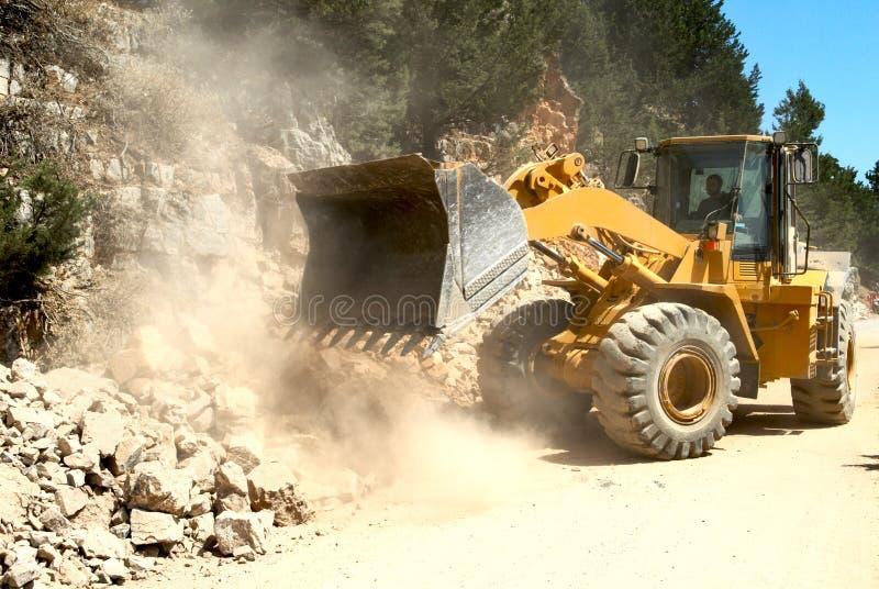 Bulldozer fotografie stock