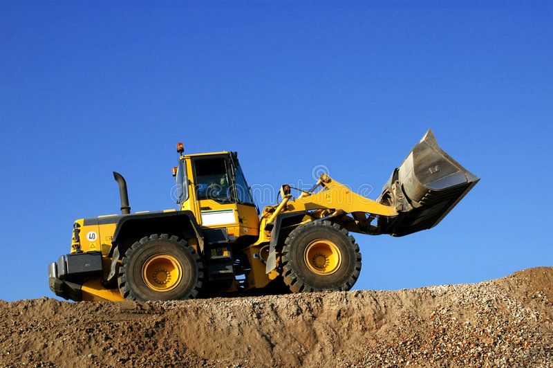 Download Bulldozer stock photo. Image of outdoor, building, buildingsite - 6337328