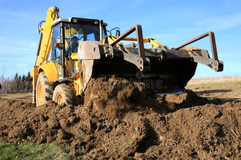 Download Bulldozer stock photo. Image of heavy, earth, duty, machine - 39512180