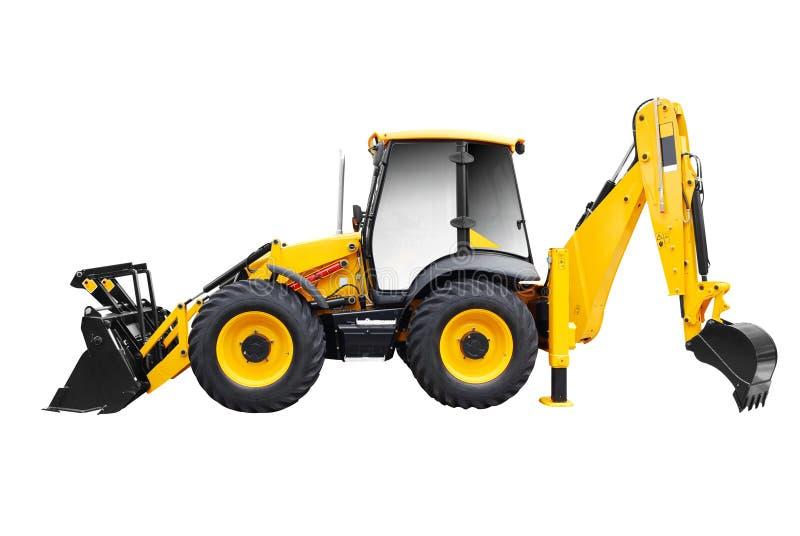 Download Bulldozer Isolated On White Stock Photo - Image: 14772296