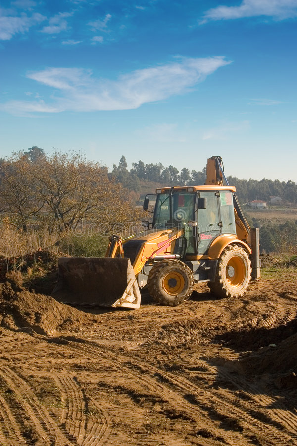 Download Bulldozer1 stock image. Image of excavating, powerful - 1723545