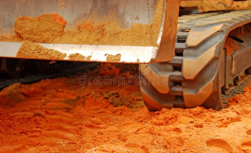 bulldozersmuts royaltyfria bilder