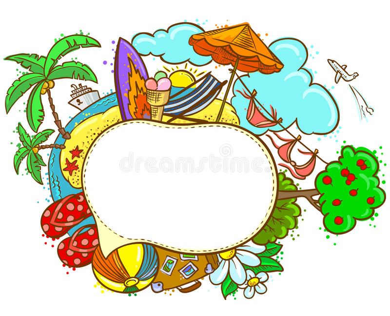 Bulle de la parole illustration stock