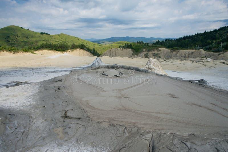 Bulle de volcan de boue de Berca photos stock