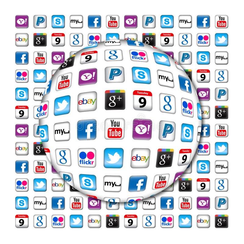 Bulle neuve de transmission d'Apps illustration libre de droits