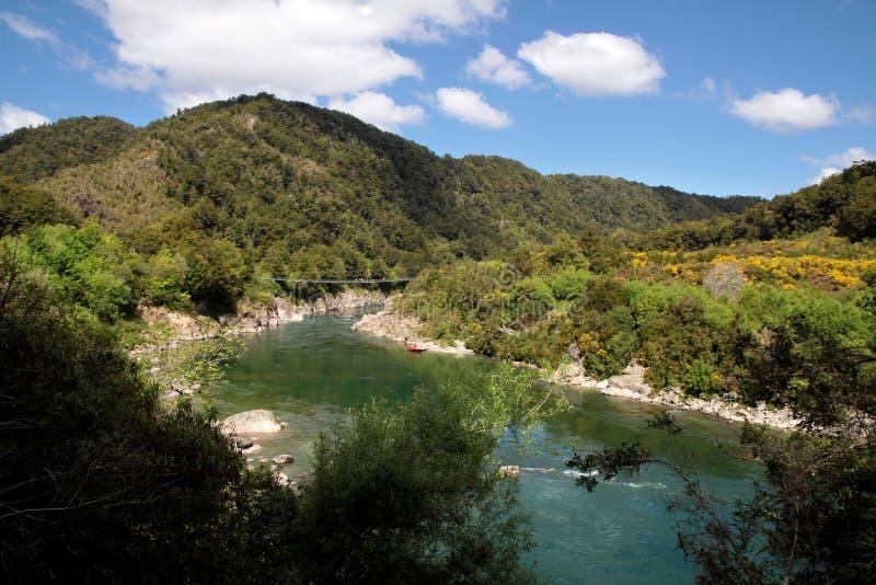 Buller Gorge. Tasman Region, South island, , New Zealand stock photos
