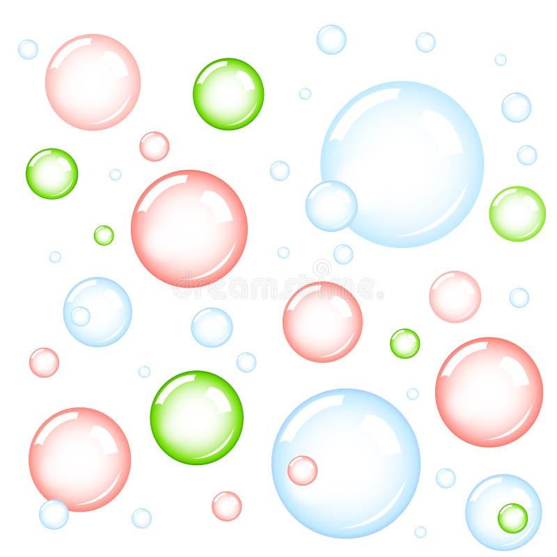 bulles illustration stock