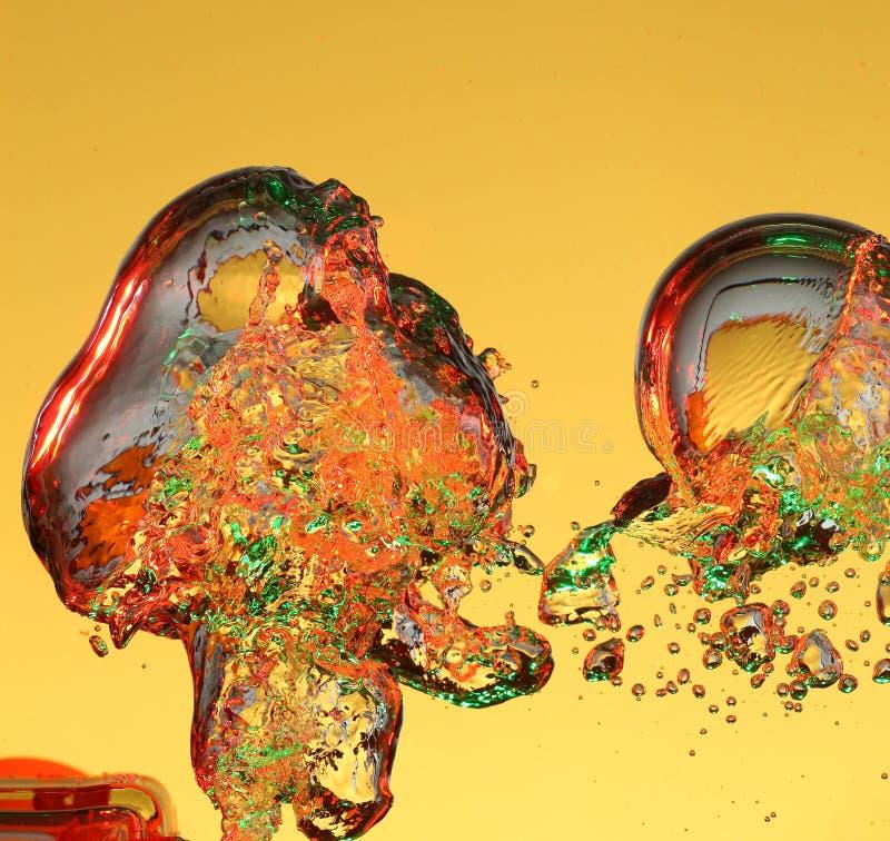 bulles d'air étranges photos stock