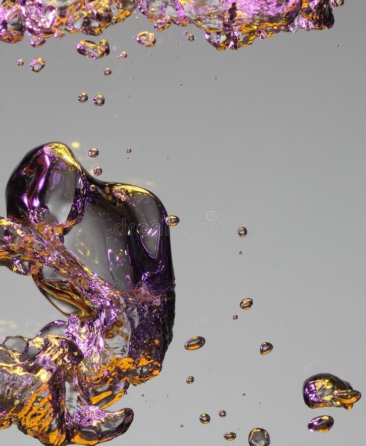 bulles d'air colorés photos stock