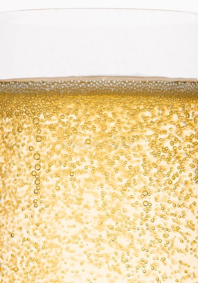 Bulles de champagne photographie stock libre de droits