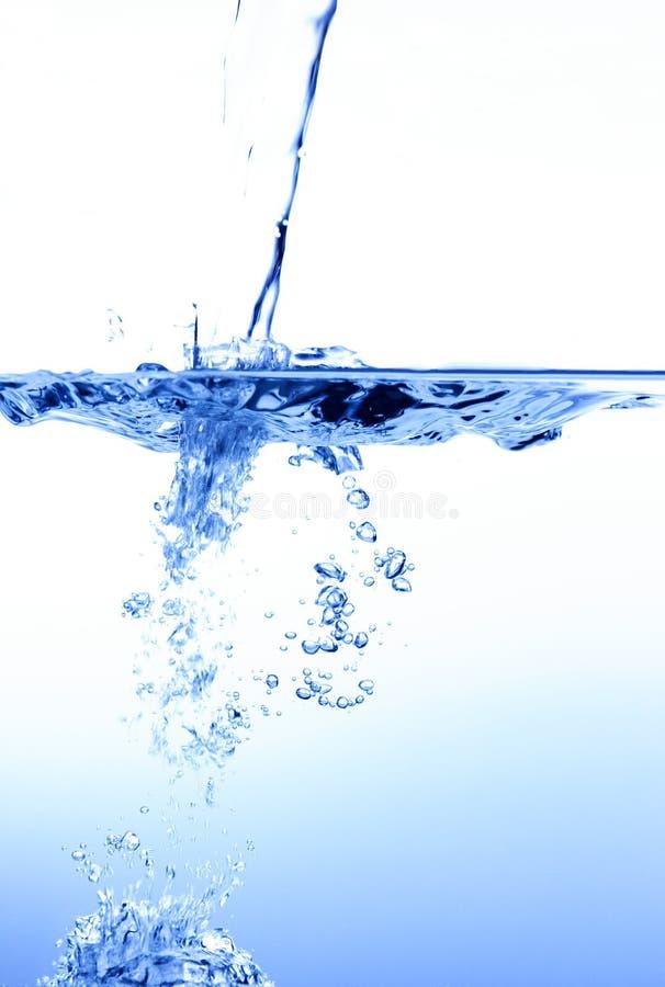 Bulles de l'eau photos stock