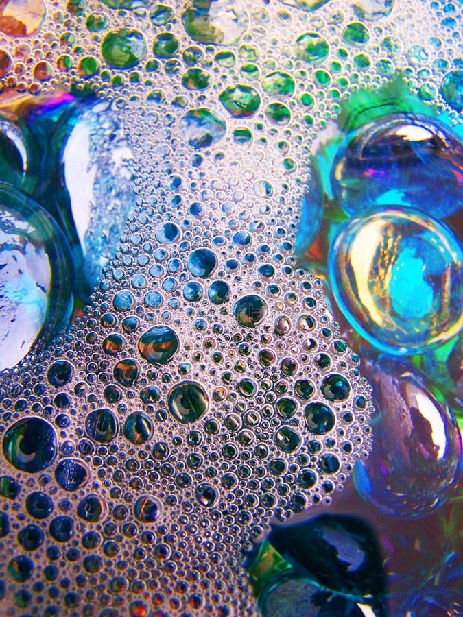 Bulles de savon 8 image libre de droits
