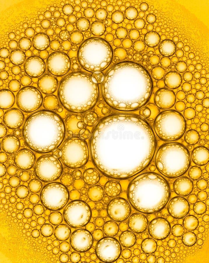 bulles jaunes heureuses image libre de droits