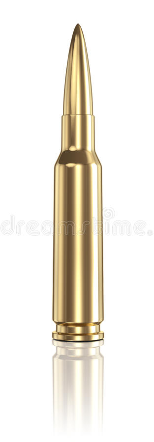 Bullet Royalty Free Stock Photo
