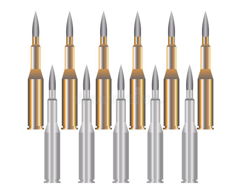 bullet ilustración del vector