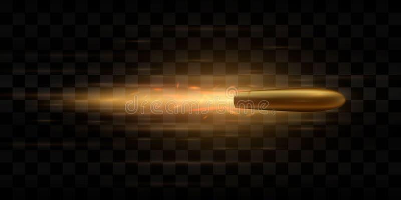 bullet Ilustración del vector stock de ilustración