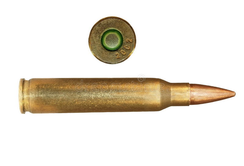 Download Bullet isolated stock image. Image of military, shell - 17945859