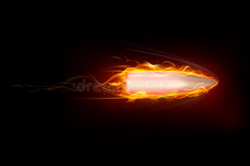 Bullet In Motion Royalty Free Stock Image
